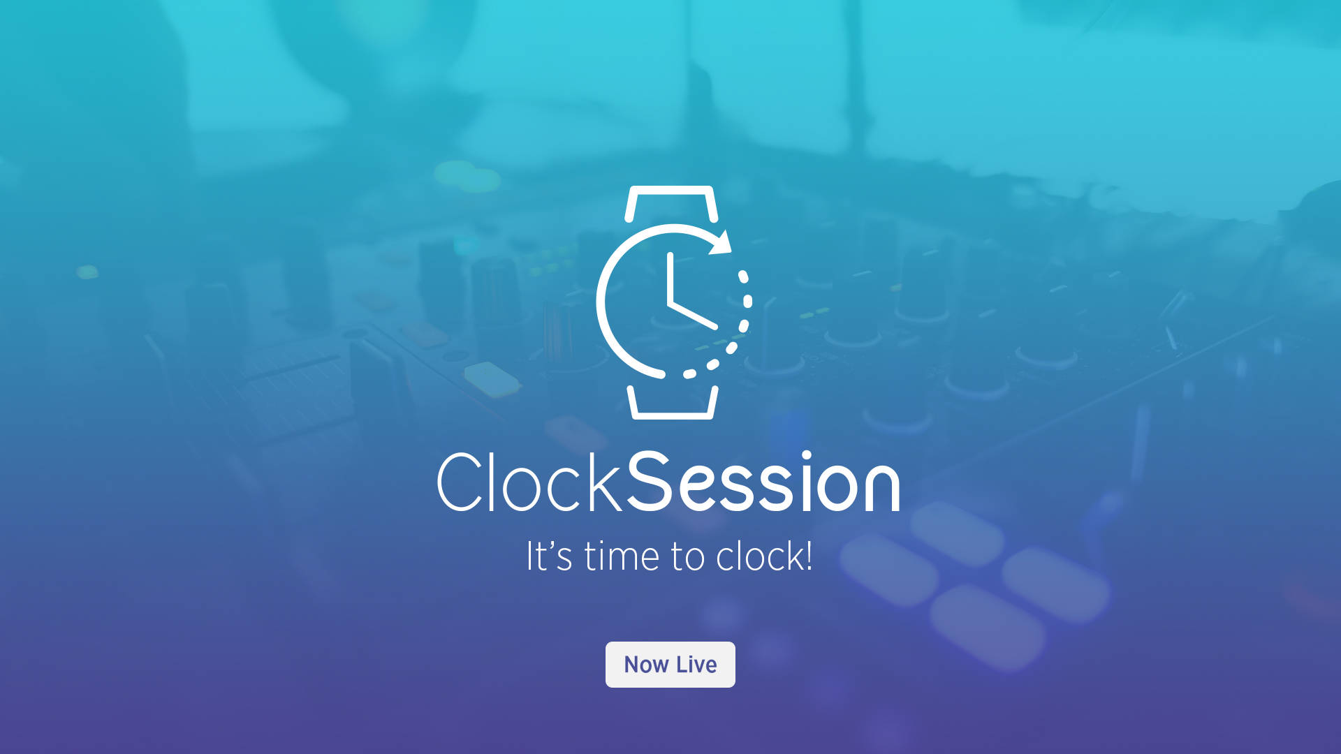 CLOCKBEATS - THE MAGIC OF THE CLOCK SESSION BECOMES A PARTY