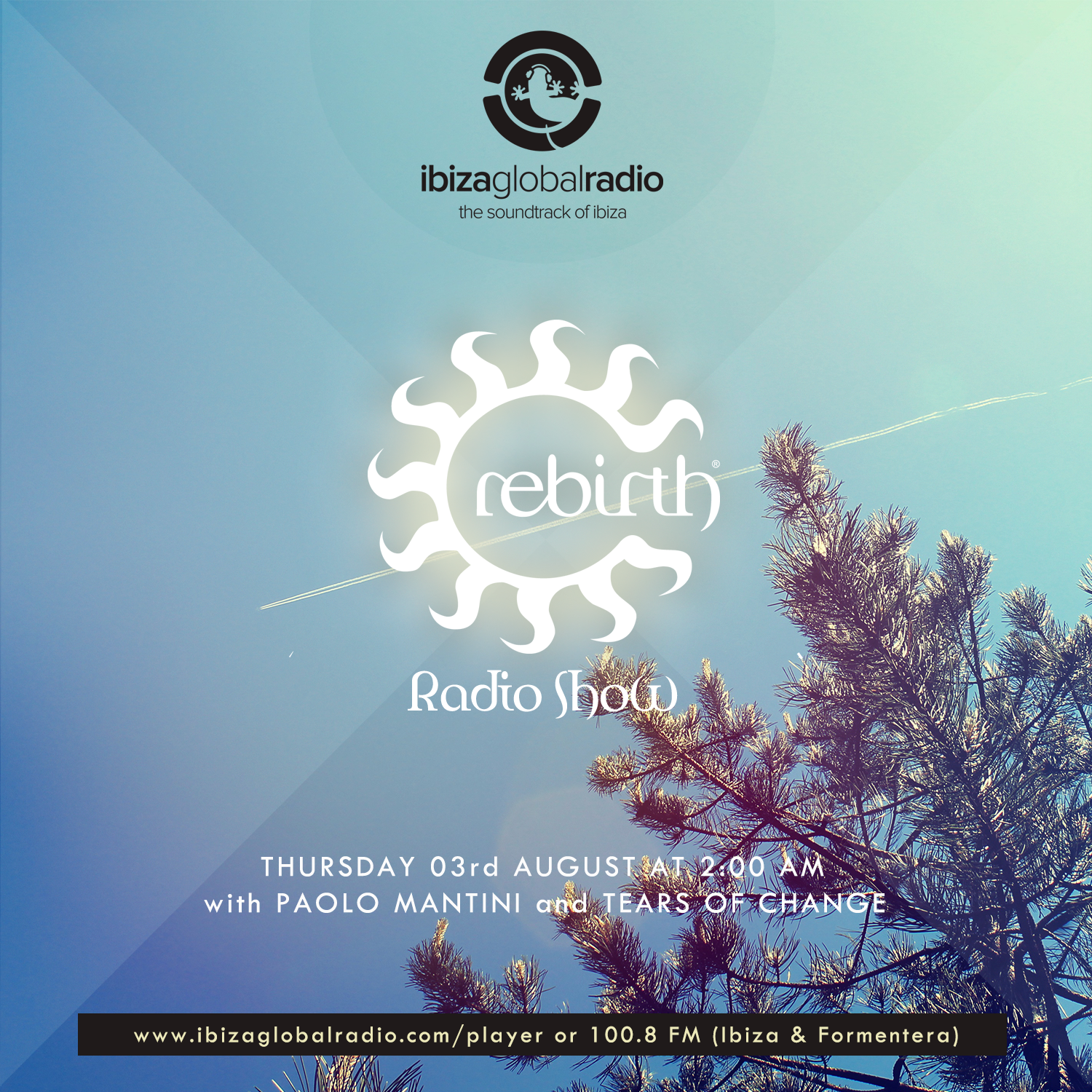 Rebirth Radio Show with Tears Of Change