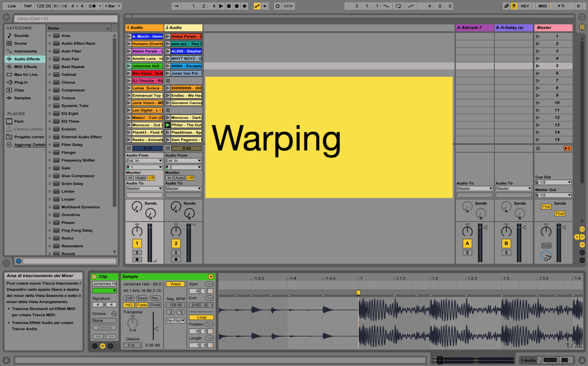 Ableton Live Tricks: How to Warp your Tracks Correctly