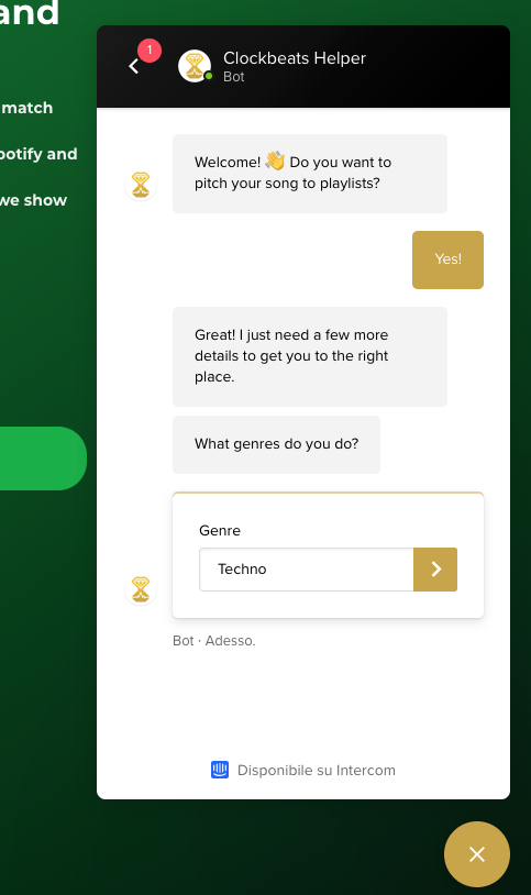 SpotiMatch: Grow your Spotify plays matching your song with