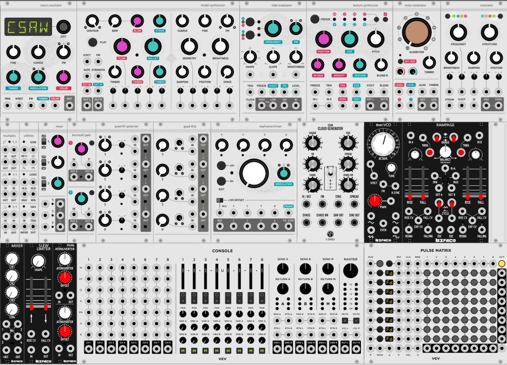 VCV Rack : the New Eurorack Modular VST